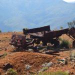 Épave de camion Renault Mine Cosinus